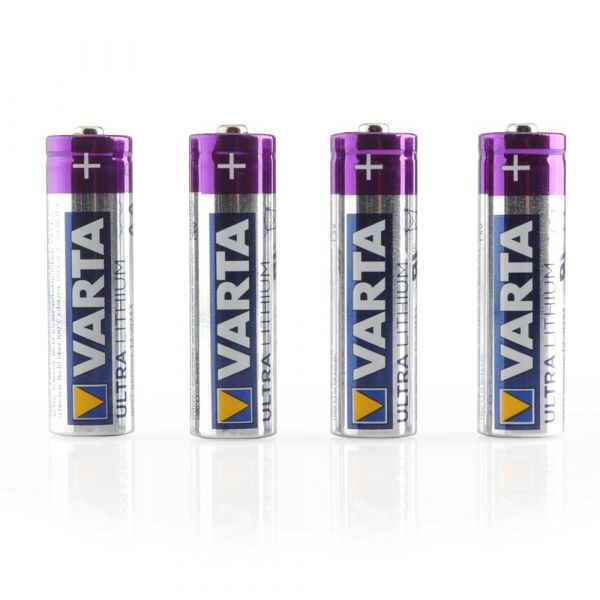VARTA Ultra Lithium AA Batterien 4er-Pack