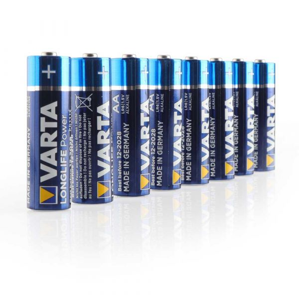 VARTA Longlife Power Alkaline AA Batt. 8er-Pack